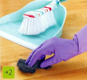 Как удалить царапину с деревянного пола. Фото 2