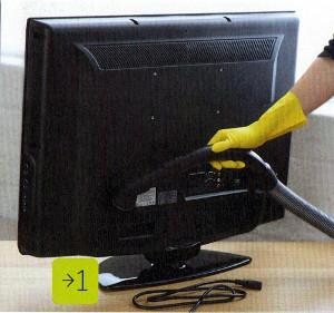 Как почистить монитор. Фото 1.