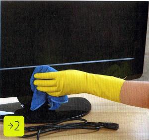 Как почистить монитор. Фото 2.